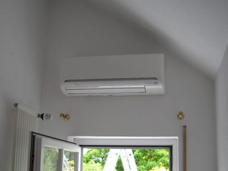 Klimatisierung der Einzelräume